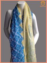 2015 New Design Factory Direct Supply geometric print Viscose cotton OEM Scarf