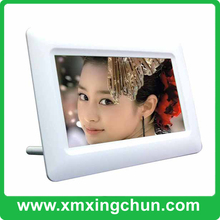 Factory direct supply acrylic 7 inch battery operate digital photo frame
