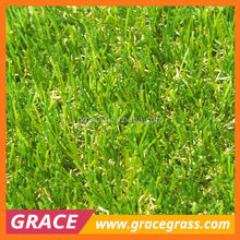 PE Natural looking UV test landscaping artificial grass for gardens