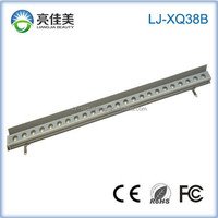 LED Light Source and IP67 IP Rating led wall washer warm white XQ38B-24W led wall washer light