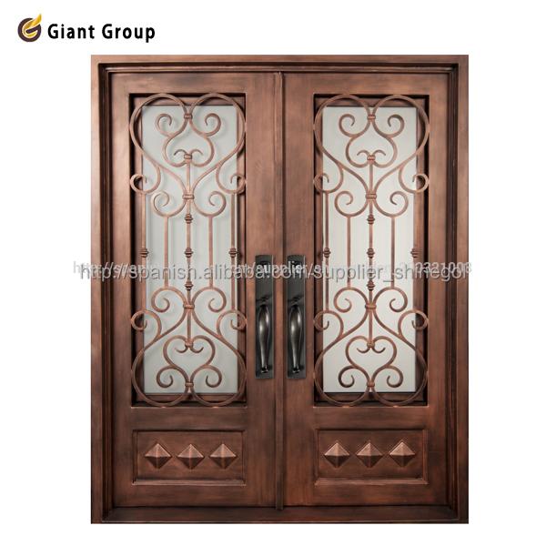 Puertas de herreria en hierro forjado 10 puerta principal for Modelos de puertas de metal para casas