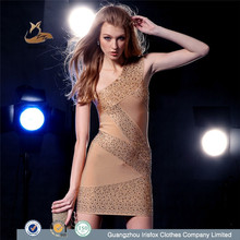 sexy international popular ladies garment brand name dress