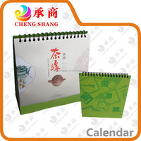 Factory producing 2016 desk calendar with high quality for office