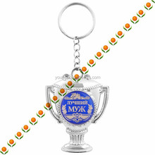keychain with can key chain with religious souvenirs