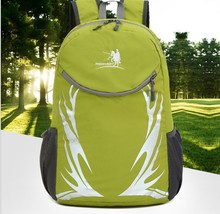 New arrival large capacity 35L durable waterproof nylon light weight foldable backpack for travel and other outdoor activities