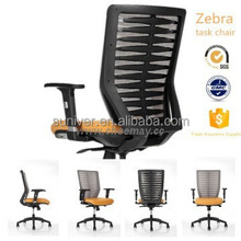 Bionic plastic mesh back mechanical office chair / executive chair / wheel chair with positions lock mechanism