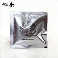organic slimming black teabag with rose flavor
