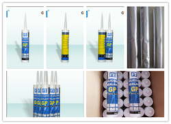 General purpose silicone rubber adhesive , high temperature silicone sealant , tile grout adhesive