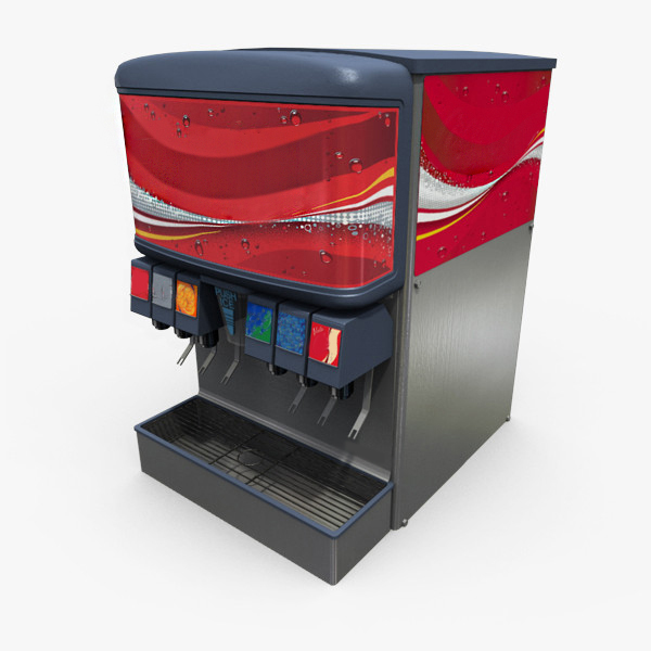 the amounts a soft drink machine