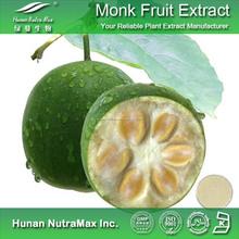 100% Natural de Luo Han Guo Extractos Luo Han Guo Glucósido 80%