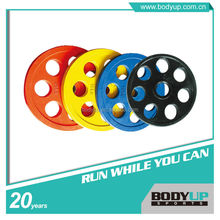 High Quality Commercial Use Rubber Weight Plate With Handle