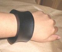 Black Wooden Bracelet