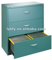 KFY-A-03 Cyan Lateral File Cabinet For A3 Office Depot