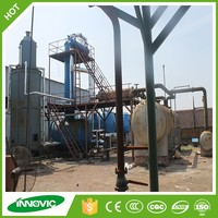 2015 China hot used motor oil recycling distillation plant