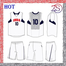 Basketball Uniforms / Lightweight Sublimated Basketball Uniforms/100% Polyester Basketball Wears
