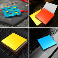 Fashion Credit Card Shape Universal 2600mAh Power Bank External Battery Charger For Mobile Phone Tablet