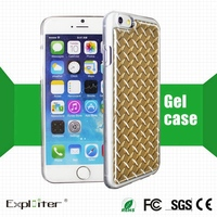 Excellent quality diy gel gel mobile phone case for apple case smart