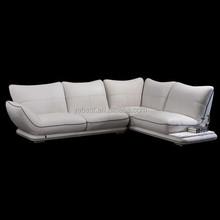 Home furniture leisure high end leather sofa