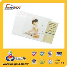 Magnetic PVC photo frame magnet 4x6 fridge magnet for promotional gift