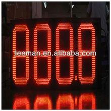 7segment digital led gas price sign Shenzhen Leeman LED