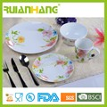 16 pcs jogo de jantar de porcelana cerâmica, elegante jantar de porcelana fina conjunto