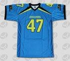sublimação custom futebol americano jersey desgaste