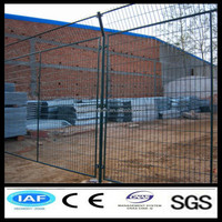 Chinese company square tube temporary fence /removable fence