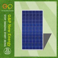 best price power poly 300w solar panel for 2KW solar power system
