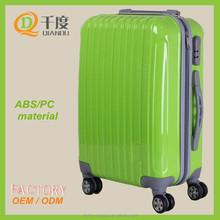 3 pcs custom design ABS+PC material trolley travle luggage bag