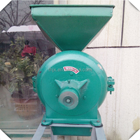 TH series automatic home use straw hammer mill for wheat and corn
