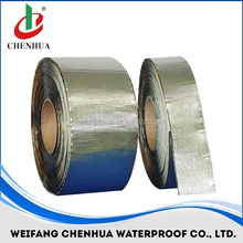 self adhesive bitumen/asphalt sealing tape for roofing with polyester reinforcement