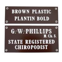 Hot sales custom custom nameplate maker