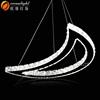 Led Crystal Light Diamond Ring Lamp Modern Pendant Lamp OM9008W