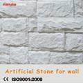 Stacked Ston luz artificial, piedra decorativa de la pared exterior de peso precio mas barato