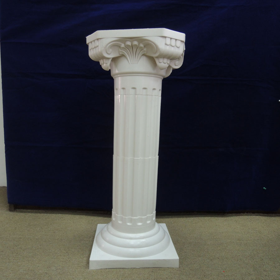 Decorative Garden Wedding Plastic Pillars Columns For Sale