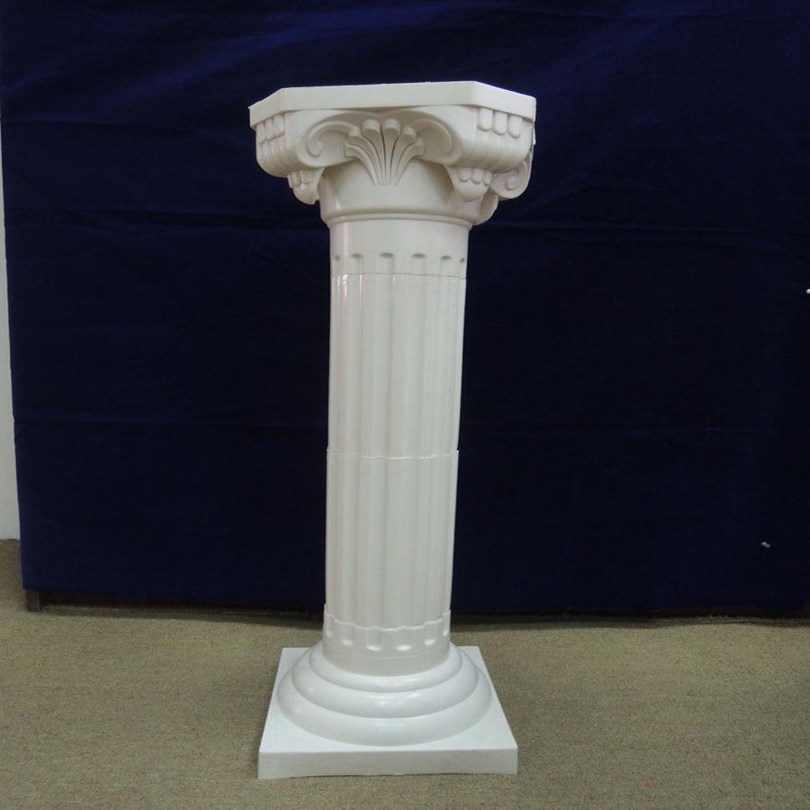 Decorative garden wedding plastic pillars columns for sale Decorative columns