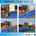 Recipiente de alimentação hidráulica rampa móvel quintal/rampa de carga para o caminhão de forklift
