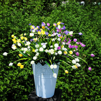 Artificial flowers flowers plastic flowers 7 fork spring Yang Meiguo partition restaurant decorative flower gardening