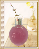 roll on transparent glass empty perfume bottle