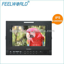 FEELWORLD 7 inch HD Field LCD Monitor IPS Panel 1280X800 Peaking Focus Assist with 3G-SDI Input