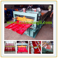 glazed tiles Wall and roof used clip locked metal roofing panel roll forming machines for sale