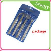 fashion led light tweezers ,H0T016, popular all stainless steel series handy tweezer