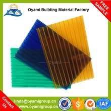 Factory price anti-drop wood carport polycarbonate sheet for sound barriers