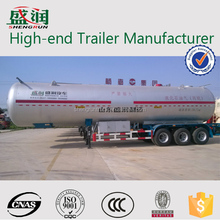 Widely used lpg gas tank/lpg truck semi trailer for sale