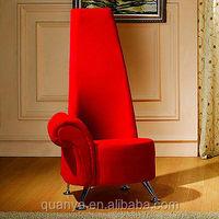 High back chair throne chair/Wedding chaise lounge/Wedding lounge chair
