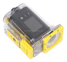 waterproof up to 50 meters helmet mounted camera