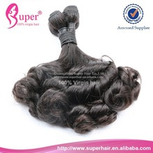 Natural color micro bead hair extensions remy curl,wholesale free milky way hair,femi brazilian hair