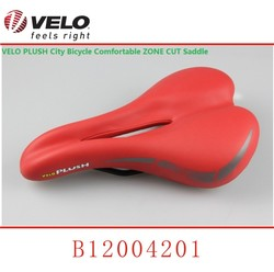 VL - 4190 Steel Rail Exerciser Gel Saddle Cycling Saddle Red Comfort Saddle