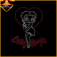 First Lady iron on rhinestone transfer design for t-shirt