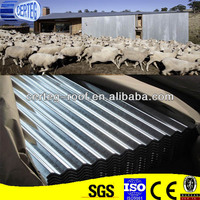 Building Material Galvanized Curving Roof Metallic Sheet for House